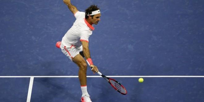 Federer US Open Semi Final 2015