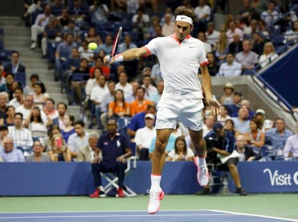 Federer Wawrinka USO 2015