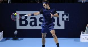 Federer Kukushkin Basel 2015
