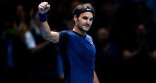 Fed Defeat Djokovic London 2015