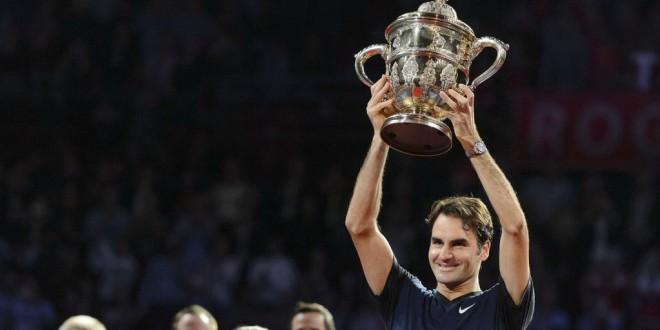 Federer Basel 2015 Title
