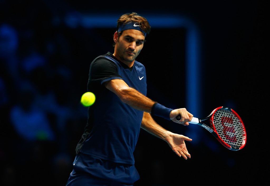 Federer Berdych World Tour Finals 2015