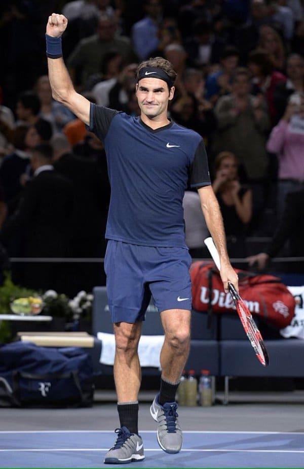 Federer Defeat Seppi Bercy