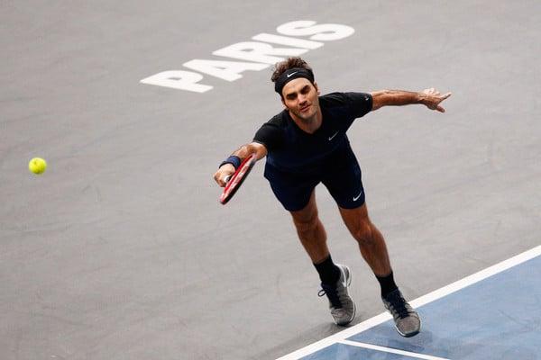 Federer Isner Bercy Last 16 2015