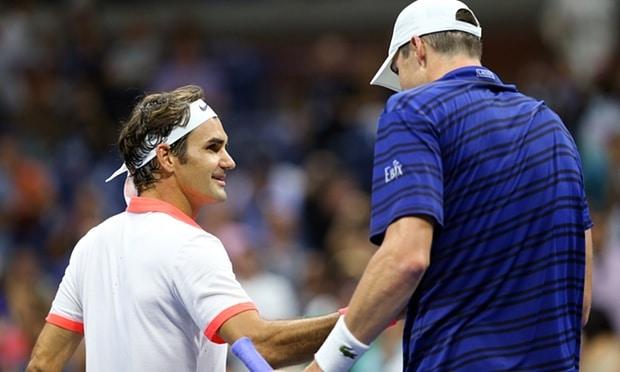 Federer Isner USO 4th Round