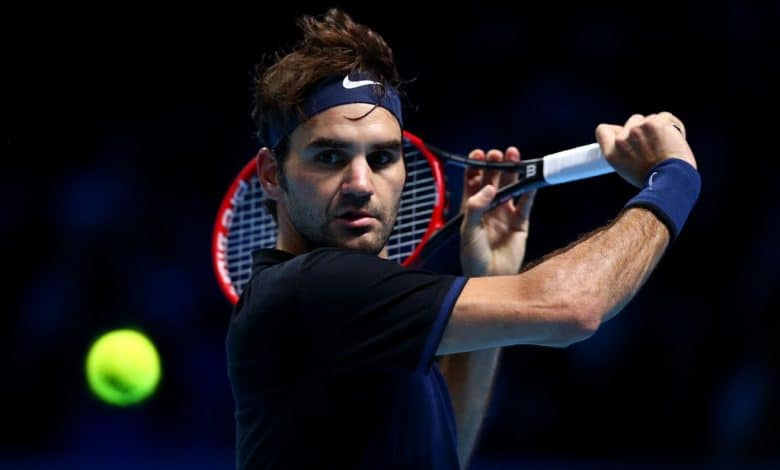 Federer Nishikori London 2015