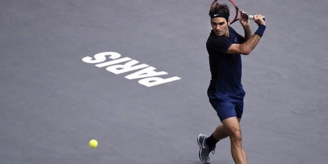 Federer Seppi Paris 2015