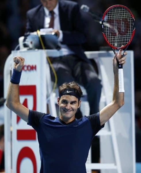 Federer Wins Basel 2015