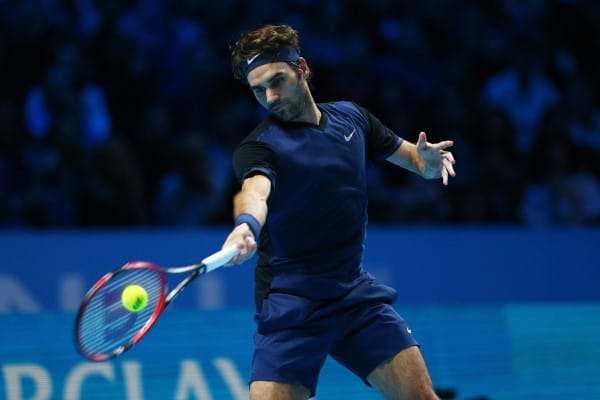 Federer World Tour Finals Semi Final 2015