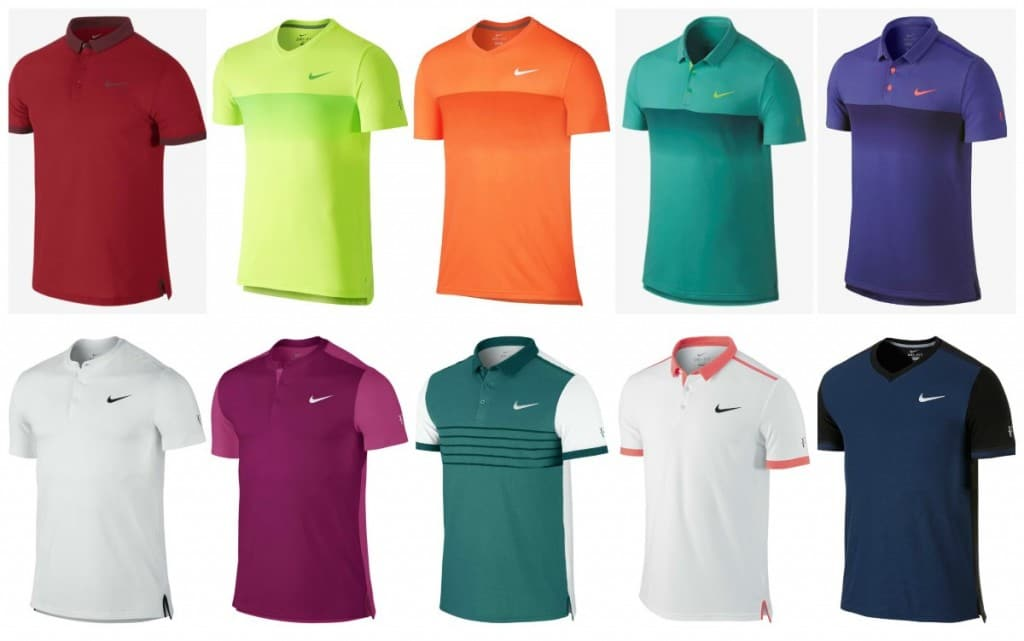 Federers Outfits in 2015