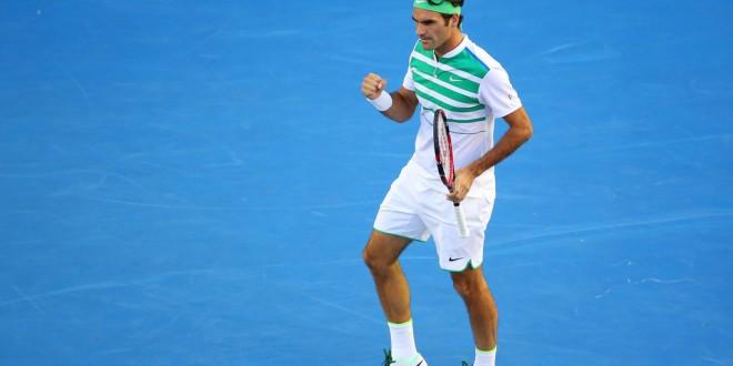Federer Australian Open Round 1 2016
