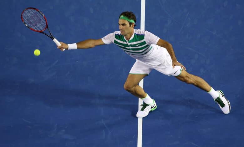Federer Dimitrov Australian Open 2016