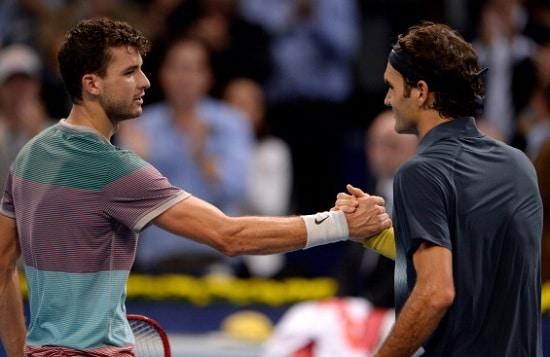 Federer Dimitrov Basel