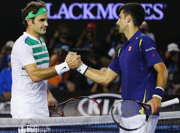 Federer Djokovic AO 2016