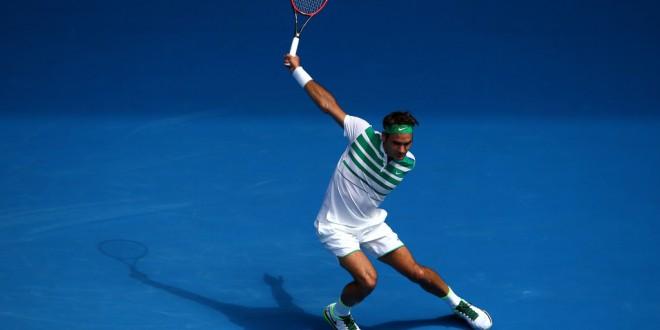 Federer Dolgopolov Australian Open 2016