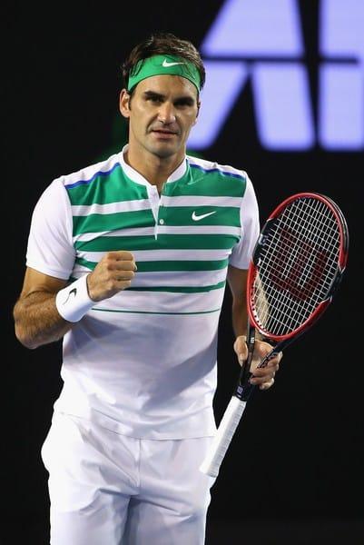 Federer Goffin AO 2016