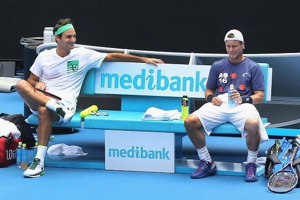 Federer Hewitt AO 2016