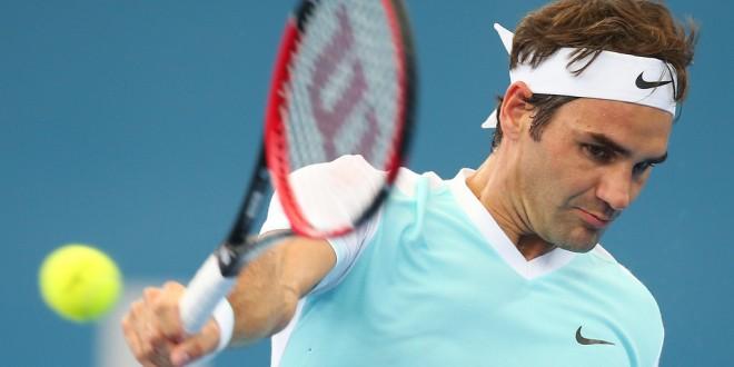 Federer Thiem Brisbane
