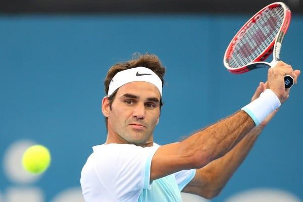 Federer Thiem Brisbane Semi Final