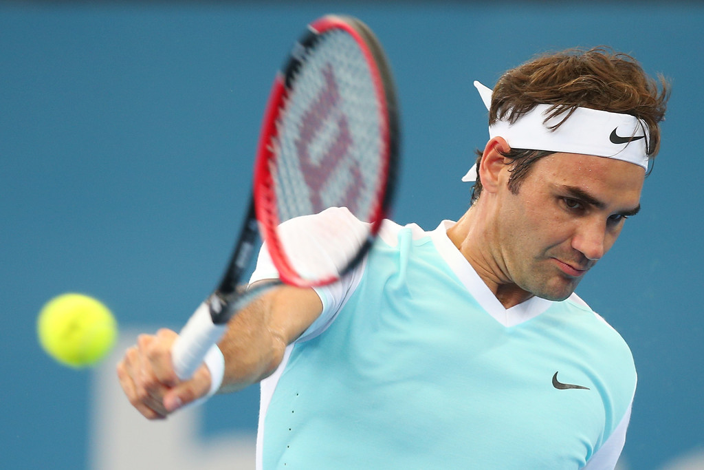 Photo of Federer Into Brisbane Final, Sets Raonic Rematch