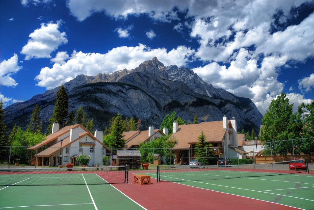 Banff Tennis Courts Alberta