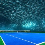 Dubai, United Arab Emirates Underwater Courts