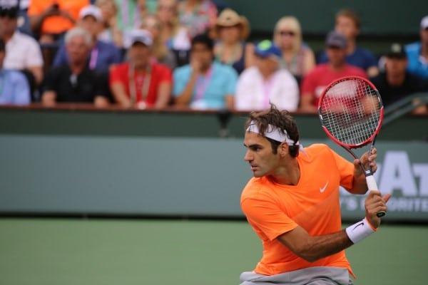 Federer in 2015