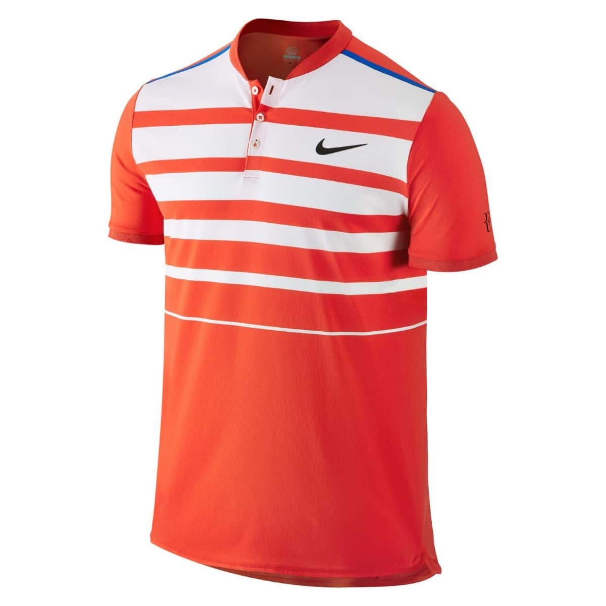 nike tennis shirt stripe on back