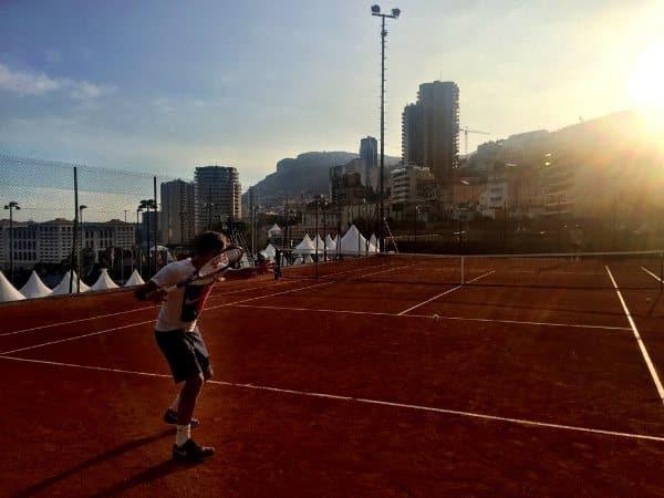 Federer Monte Carlo 2016 Practice