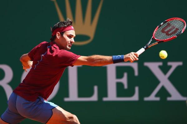 Federer Tsonga Monte Carlo Quarters 2016