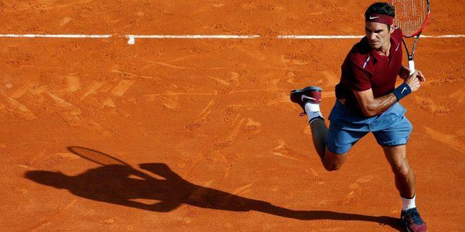 Federer defeats Bautista Agut Monte Carlo