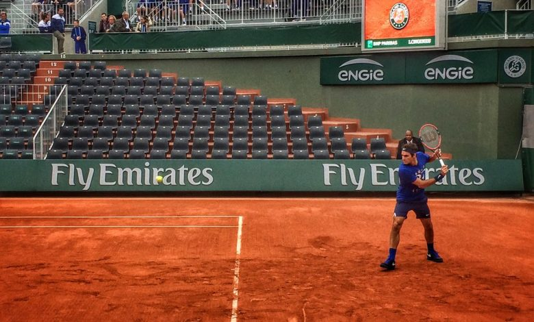 Federer French Open 2016 Practice