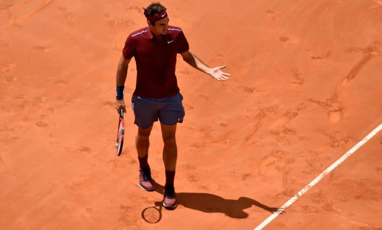 Federer Thiem Rome Masters 16