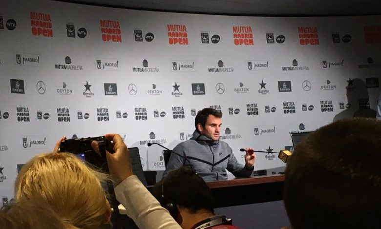 Federer Withdraws Madrid