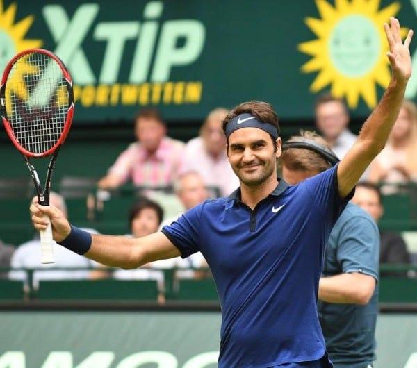 Federer Goffin Halle 2016