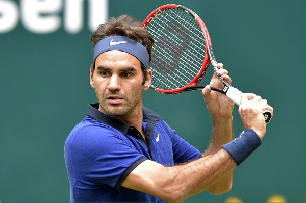 Federer Goffin Halle Quarter Final