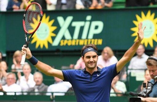 Federer Halle Last 16 2016