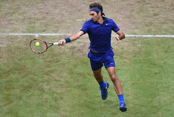 Federer Jaziri Halle