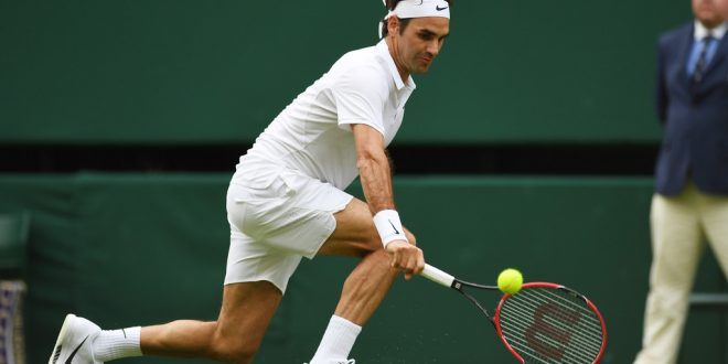 Federer Pella Wimbledon 2016