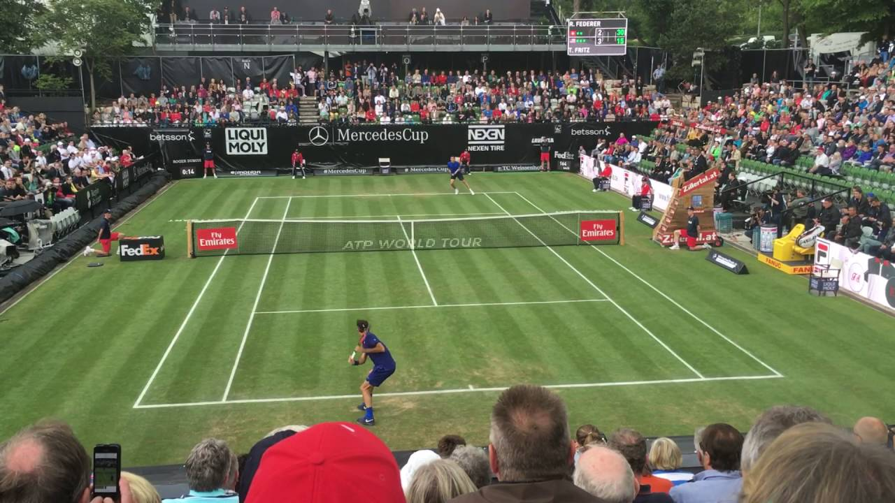 Federer overcomes fritz for maiden mercedes cup win for Who is perfect stuttgart