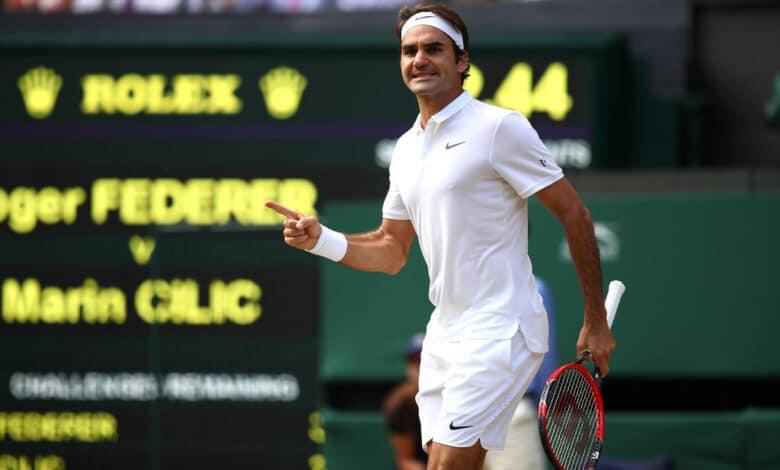 Federer Cilic Wimbledon 2016