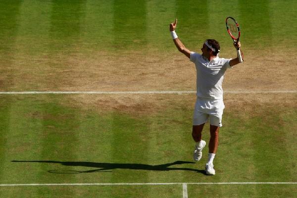 Federer Cilic Wimbledon QF