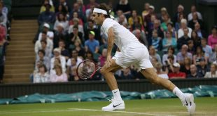 Federer Evans Wimbledon