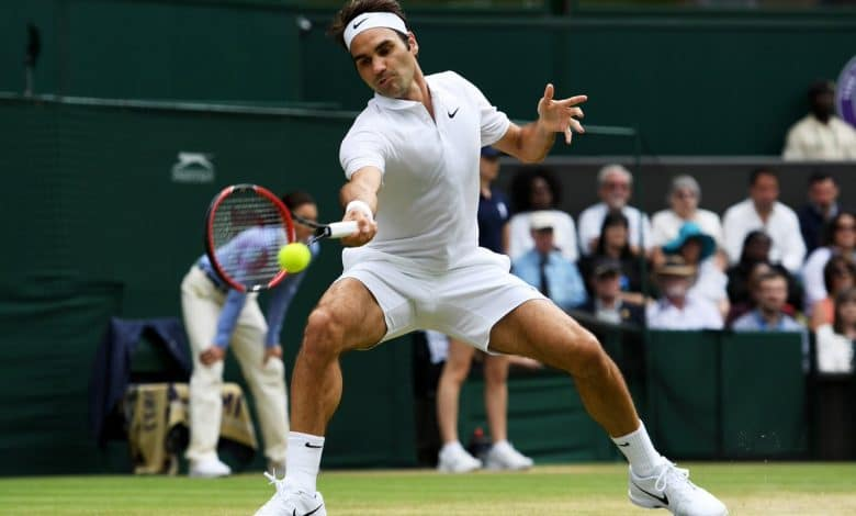Federer Johnson Wimbledon 4th Round 2016