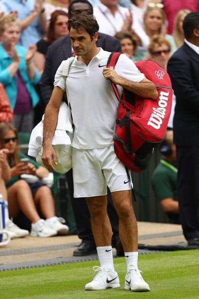 Federer Raonic Wimbledon Semi Final 2016