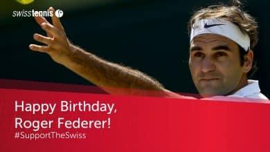 Photo of Roger Federer Birthday Acrostic