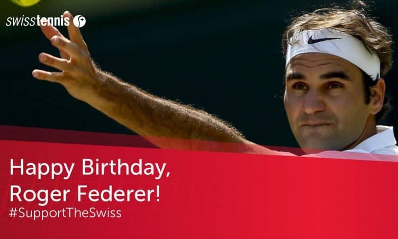 Federer Birthday