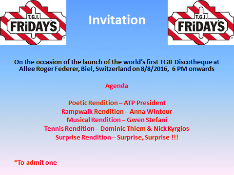 TGIF Invite