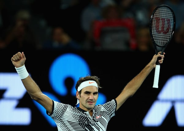 Fed Zverev Quarter Final Melbourne