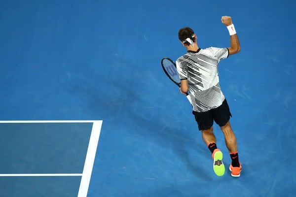 Federer 1st Round Melbourne 2017